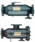 自动排渣过滤器概述: ZPG-A/B型自动排渣过滤器广泛应用供热蒸汽、空气、水等工业冷却过滤器的工艺过程。它具有自动反向冲洗功能。即排除网内的杂质。适用于大中型热交换器、汽水等设备定期排除渣。   一、ZPG-A/B型自动排渣过滤器特点: 1、能自动冲洗。排污快速.不需拆卸滤网,提高工作效率。 2、流通面积大。压力损失小,抗污性强。使用寿命长。 3、结构形式:
